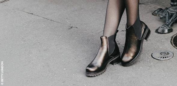 Botas de cano alto ou botins?